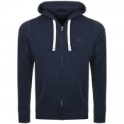 Product Image for Tommy Hilfiger Loungewear Icon Zip Hoodie Navy