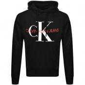 Product Image for Calvin Klein Jeans Monogram Logo Hoodie Balck