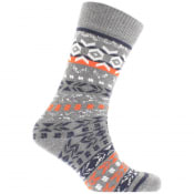 Product Image for Birkenstock Cotton Jacquard Socks Grey