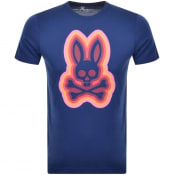 Product Image for Psycho Bunny Graphic Crew Neck T Shirt Navy