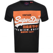 Product Image for Superdry Vintage Logo T Shirt Black