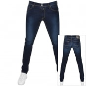 Product Image for Replay Jondrill Skinny Jeans Navy