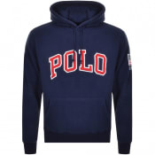 Product Image for Ralph Lauren Polo Fleece Hoodie Navy