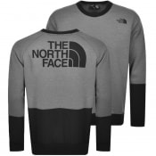 Product Image for The North Face Crew Neck Logo Sweatshirt Grey