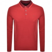 Product Image for Michael Kors Greenwick Long Sleeve Polo T Shirt Re