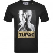 Product Image for Replay Tupac Tribute Logo T Shirt Black
