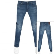 Product Image for G Star Raw 3301 Slim Fit Jeans Blue
