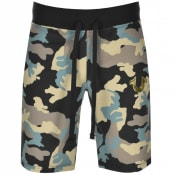 Product Image for True Religion Camouflage Jersey Shorts Black