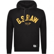 Product Image for G Star Raw Logo Core Hoodie Black