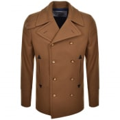 Product Image for Vivienne Westwood Melton Peacoat Jacket Camel