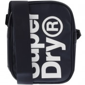 Product Image for Superdry Logo Shoulder Bag Navy
