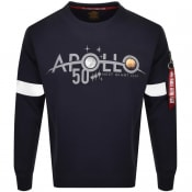 Product Image for Alpha Industries Apollo 50 Sweatshirt Navy
