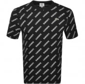 Product Image for Lacoste Live Logo T Shirt Black