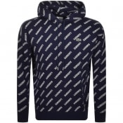 Product Image for Lacoste Live Logo Pullover Hoodie Navy