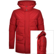 Product Image for Belstaff Traverse Parka Down Jacket Red
