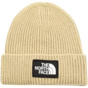 Product Image for The North Face Logo Beanie Hat Beige