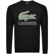 Product Image for Lacoste Large Crocodile Sweatshirt Black
