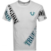 Product Image for True Religion True Verb Logo T Shirt White
