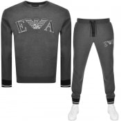 Product Image for Emporio Armani Loungewear Tracksuit Grey
