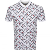 Product Image for Tommy Jeans Logo Polo T Shirt White
