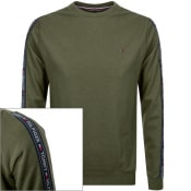 Product Image for Tommy Hilfiger Lounge Taped Sweatshirt Green