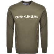 Product Image for Calvin Klein Jeans Institutional Sweatshirt Green