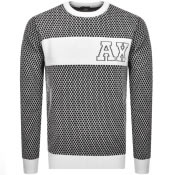 Product Image for Armani Exchange Crew Neck Knit Jumper Black