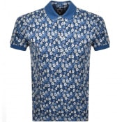 Product Image for Pretty Green Short Sleeved Polo T Shirt Blue