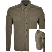 Product Image for CP Company Long Sleeved Shirt Brown