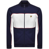 Product Image for Lyle And Scott Colour Block Track Top Navy