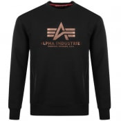 Product Image for Alpha Industries Basic Sweatshirt Black