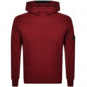 Product Image for CP Company Goggle Hoodie Red