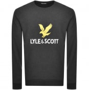 Product Image for Lyle And Scott Crew Neck Logo Sweatshirt Grey