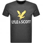 Product Image for Lyle And Scott Crew Neck Logo T Shirt Grey