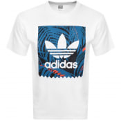 Product Image for adidas Originals Trefoil T Shirt White
