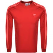 Product Image for adidas Originals Long Sleeved T Shirt Red