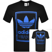 Product Image for adidas Originals Vintage Logo T Shirt Black