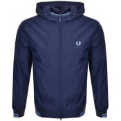 Product Image for Fred Perry Tipped Hooded Jacket Navy