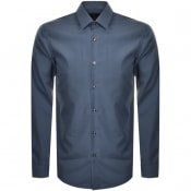 Product Image for BOSS HUGO BOSS Slim Fit Isko Shirt Blue