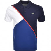 Product Image for Lacoste Sport Colour Block Polo T Shirt Navy