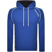 Product Image for BOSS HUGO BOSS Logo Hoodie Blue