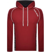 Product Image for BOSS HUGO BOSS Logo Hoodie Red
