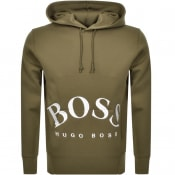 Product Image for BOSS Athleisure Sly Hoodie Green