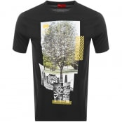 Product Image for HUGO Dennai T Shirt Black