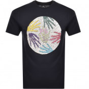 Product Image for PS By Paul Smith Crew Neck Logo T Shirt Navy