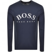 Product Image for BOSS Athleisure Long Sleeved Togn 1 T Shirt Navy