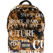 Product Image for Versace Jeans Couture Baroque Backpack Black