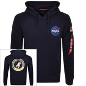 Product Image for Alpha Industries Space Shuttle Hoodie Navy