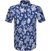 Product Image for Michael Kors Short Sleeved Coral Shirt Blue