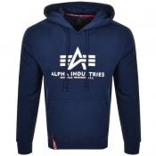 Product Image for Alpha Industries Basic Hoodie Navy